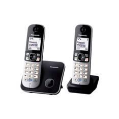 PANASONIC ESPAÑA, S.A. TELEFONO INALAMBRICO DIGITAL MANOS LIBRES DECT PANASONIC KX-TG6812SPB, DUO