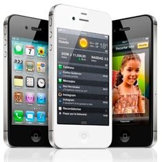 APPLE TELEFONO LIBRE IPHONE 4S DE APPLE, 16GB NEGRO