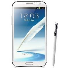 SAMSUNG 2 TELEFONO SAMSUNG GALAXY NOTE 2 N7100 SMARTPHONE BLANCO 16GB  LIBRE