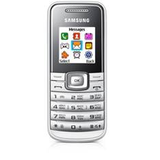 SAMSUNG ELECTRONICS IBERIA S.A TELEFONO SAMSUNG MAPLE E1050 BLANCO 1.43'' LIBRE