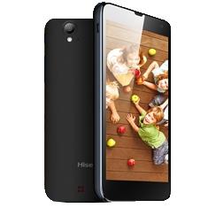 """HISENSE ELECTRÓNIC IBERIA S.L TELEFONO SMARTPHONE HISENSE HS-U970 PANTALLA 5"""" QHD IPS / PROCESADOR QUAD CORE 1.2 GHZ / 1 + 4GB / CAMARA TRASERA 8 MEGAPIXEL FLASH / 3G / DUAL SIM / LIBRE NEGRO"""