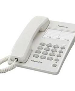 PANASONIC ESPAÑA, S.A. TELEFONO SOBREMESA PANASONIC KX-TS100EXW BLANCO BASICO