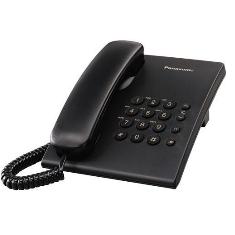 PANASONIC ESPAÑA, S.A. TELEFONO SOBREMESA PANASONIC KX-TS500EXB, NEGRO BASICO