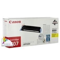 CANON TONER CANON AMARILLO CL707Y 2.000Pag, LBP 5000 5100