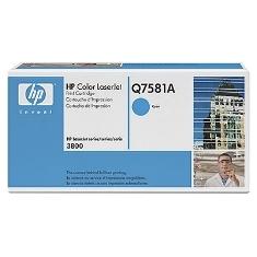 HP TONER HP CIAN Q7581A 6000 PAG. LASER JET CP3505/3800