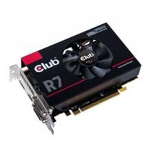CLUB-3D VGA ATI RADEON 3D R7 260 X TrueAudio 2GB DDR5 PCI EXPRESS CROSSFIRE HDMI DVI VGA CLUB 3D