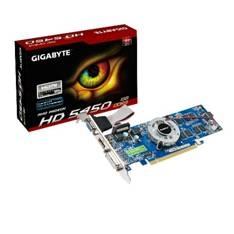 GIGABYTE VGA ATI RADEON HD 5450 1GB DDR3, PCI EXPRESS, HDMI, DVI , VGA GIGABYTE