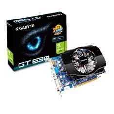 GIGABYTE VGA NVIDIA G-FORCE GT 630 GPU, 2GB, GDDR3, DVI, HDMI, GIGABYTE