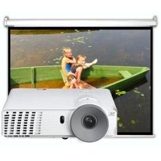 LG VIDEOPROYECTOR LG BE320 2800 ANSI SVGA 800X600 + PANTALLA