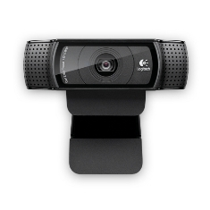 LOGITECH WEBCAM LOGITECH C920 NEGRA FULL HD 1080P 15 MP